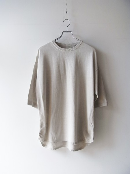 crepuscule Knit T-shirt (クレプスキュール)