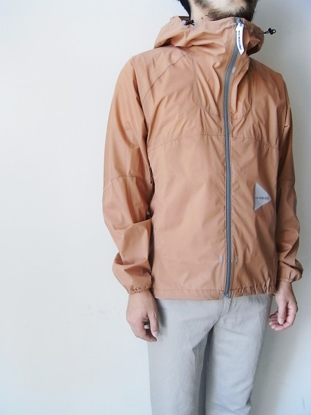 and wander light rain jacket (pink)