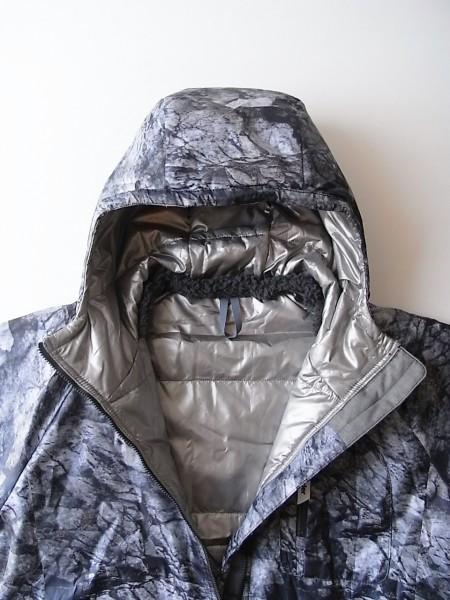 and wander rock printed insulation hoodie