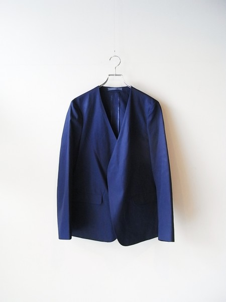 semoh No collar Jacket (BLUE)