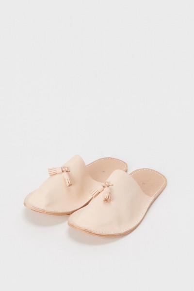 leather slipper-natural-2