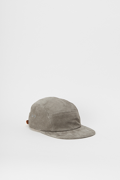 Hender Scheme water proof pig jet cap gray