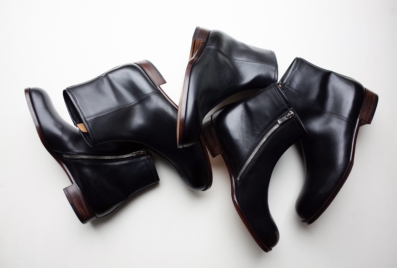 forme Side zip boots